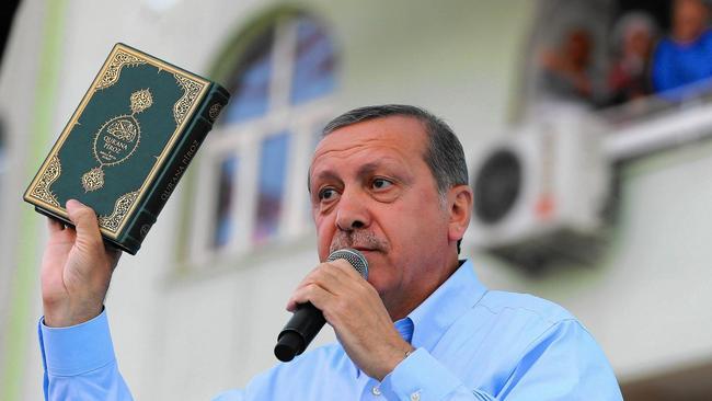 T. R. Erdoganas su Koranu