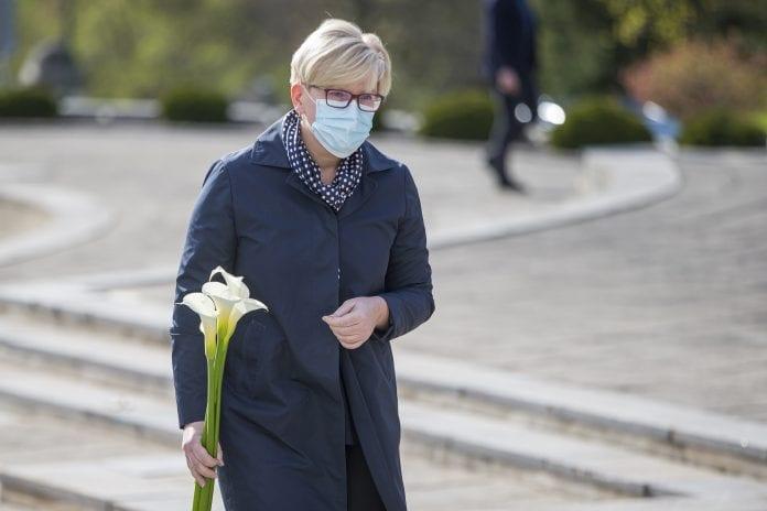 Ministrė Pirmininkė Ingrida Šimonytė eina