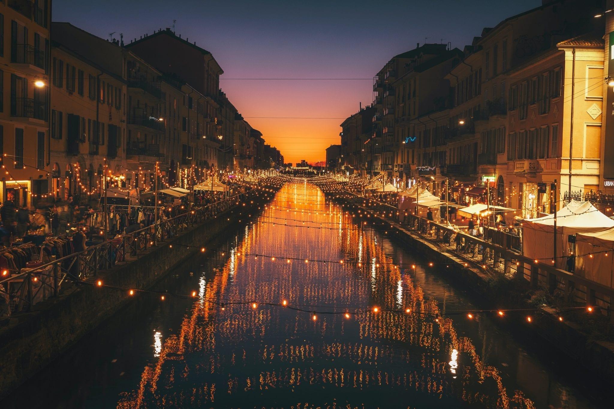 Milanas vakare ziba