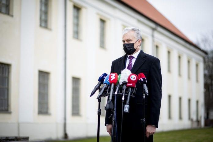 LR prezidentas Gitanas Nausėda sako