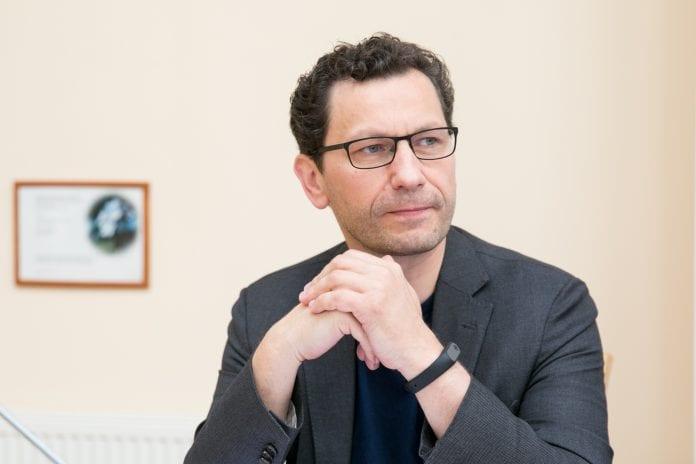 Seimo narys Robertas Šarknickas