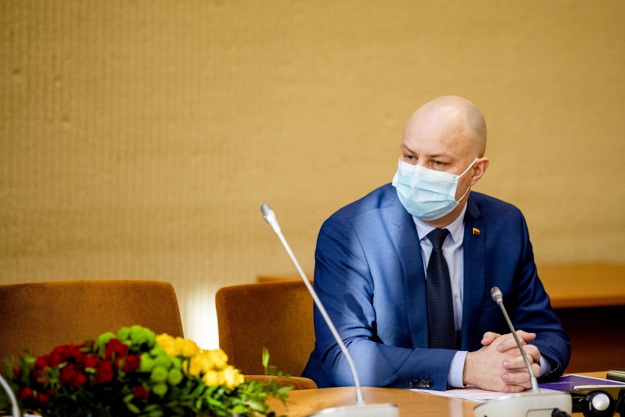 Buvęs sveikatos apsaugos ministras Aurelijus Veryga