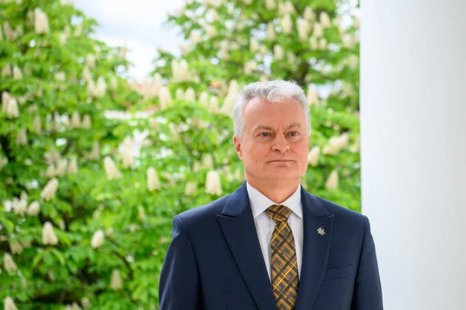 LR Prezidentas Gitanas Nausėda