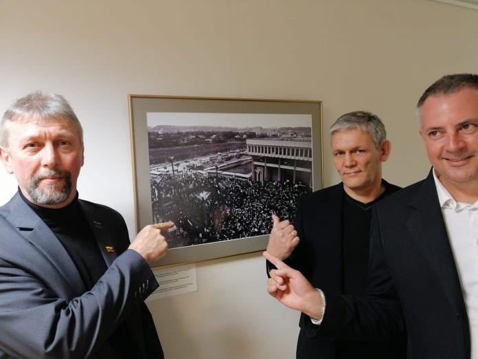 Raimondas Grinevičius, Arvydas Daunys ir Viktoras Jašinskas