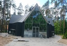 Naujai atstatyta Kulautuvos Švč. Mergelės Marijos bažnyčia