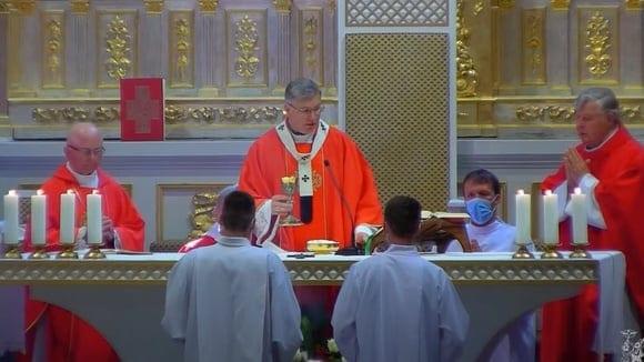 Šventųjų apaštalų Petro ir Pauliaus iškilmė Kauno katedroje