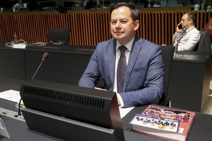 Užsienio reikalų viceministras Arnoldas Pranckevičius
