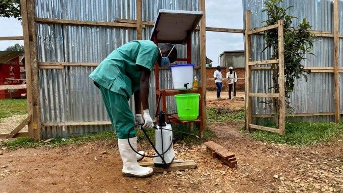 PSO darbuotojas Afrikoje