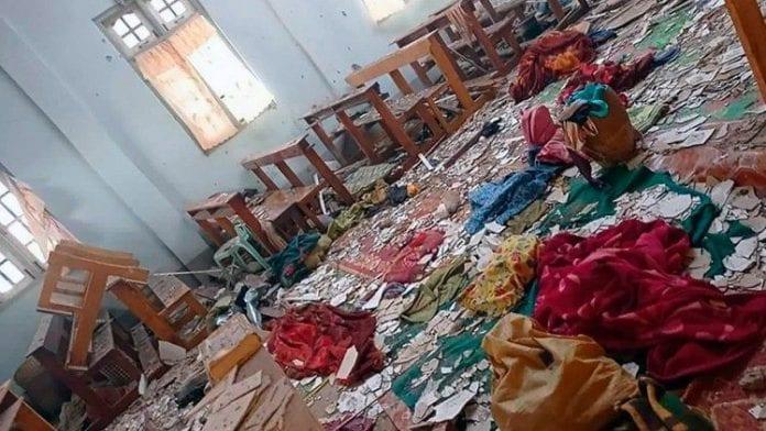 Apšaudyta dar viena bažnyčia Mianmare