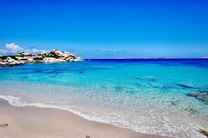 Sardinijos paplūdimys Italijoje