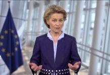 Europos Komisijos pirmininkė Ursula von der Leyen