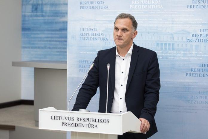 Prezidento patarėjas Ridas Jasiulionis
