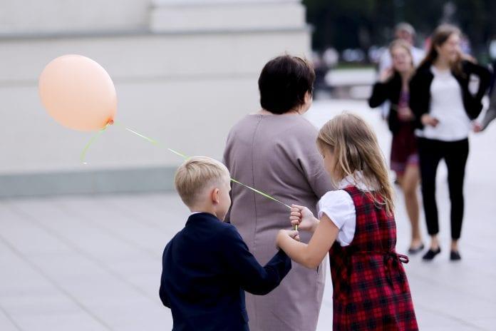 Vaikai/ Rugsėjo 1 -oji/BNS nuotr.