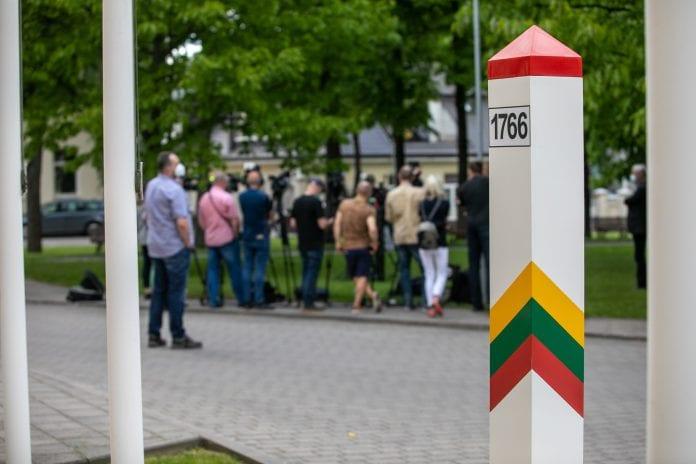 Pristatyta padėtis pasienyje su Baltarusija dėl nelegalios migracijos