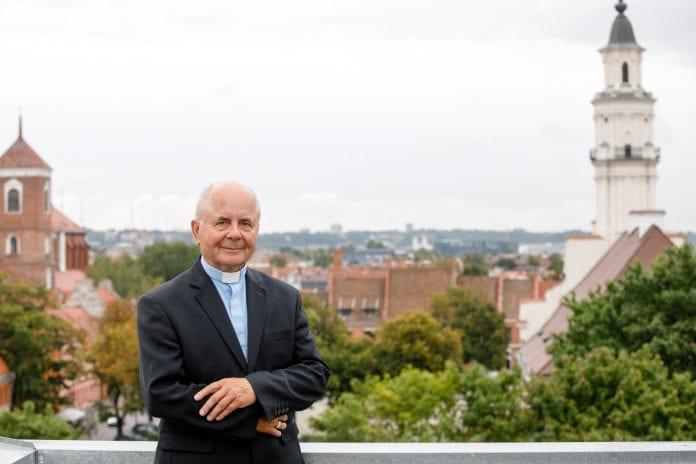 Kauno arkivyskupas emeritas, kardinolas Sigitas Tamkevičius SJ