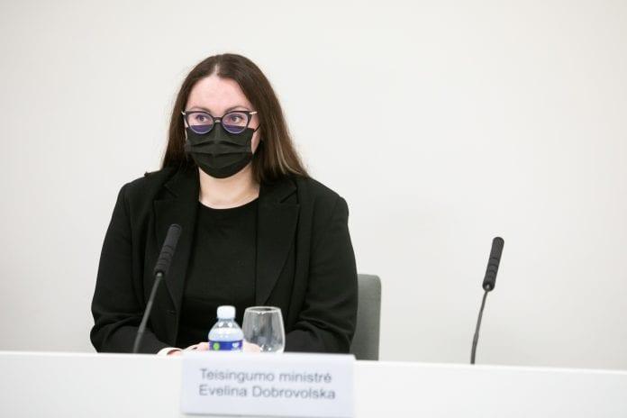 Teisingumo ministrė Evelina Dobrovolska