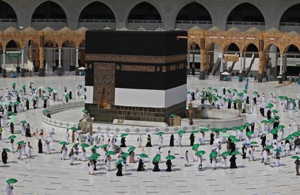 Mekoje maldininkai ruošiasi antrajam hadžui