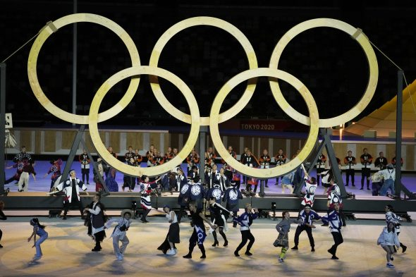 Tokijuje prasidėjo vasaros olimpinių žaidynių atidarymo ceremonija