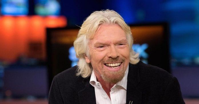 britų milijardierius Richardas Bransonas