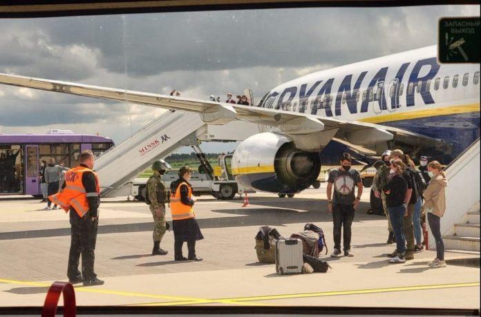 Lėktuvas Minske