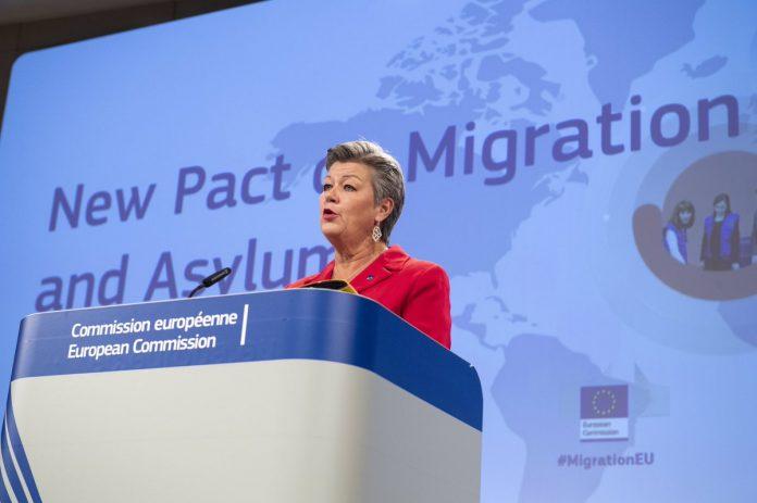 vidaus reikalų eurokomisarė Ylva Johansson