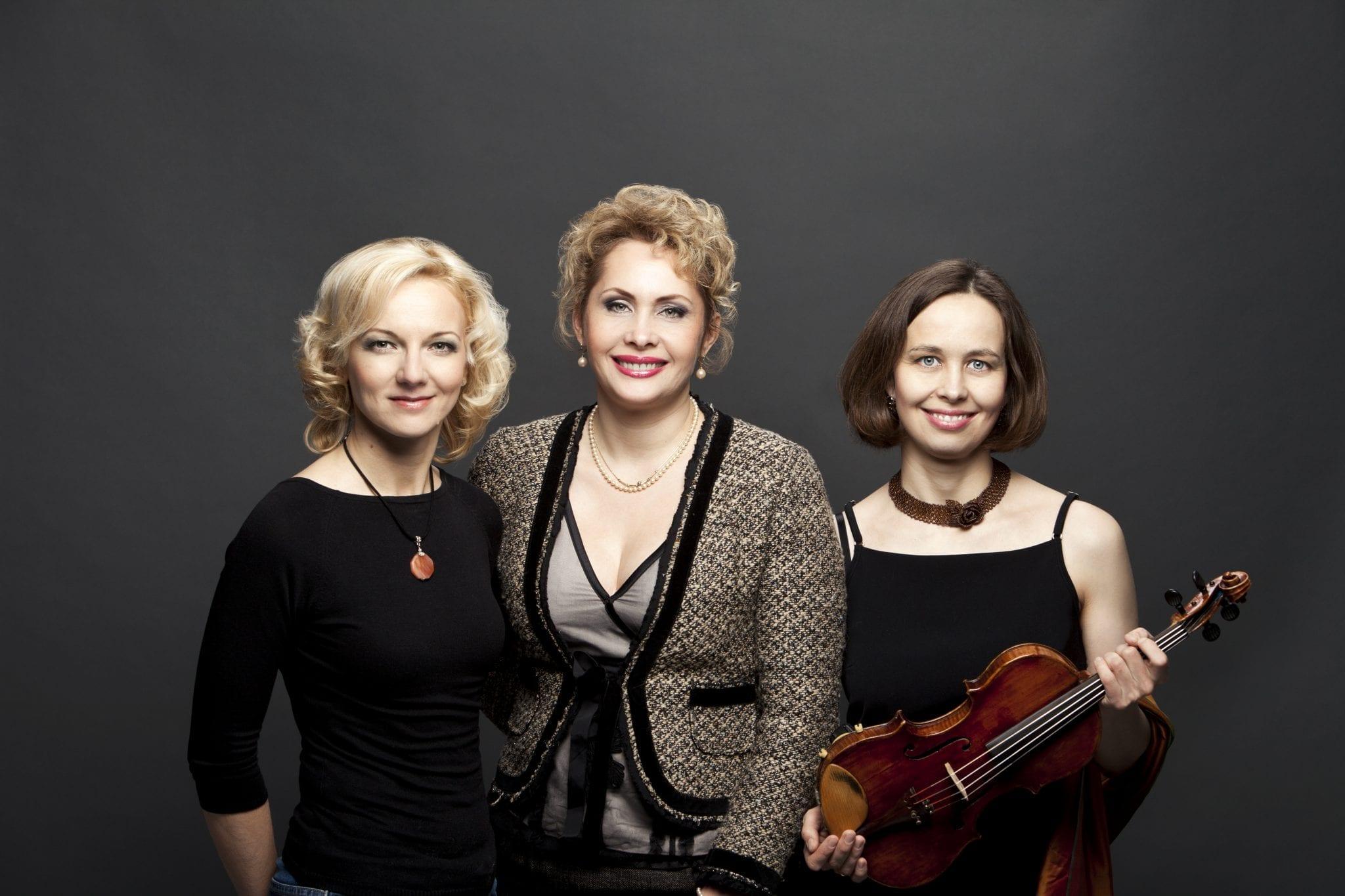 Muzikė Rūta Blaškytė su kolegėmis / Asmeninio archyvo nuotr.
