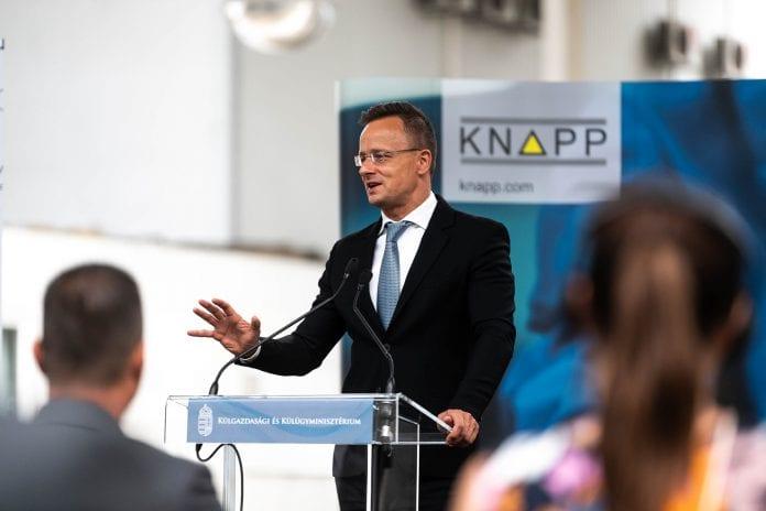 Vengrijos užsienio reikalų ministras Peteris Sijartas