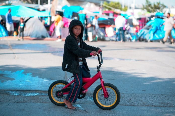Migrantų vaikas