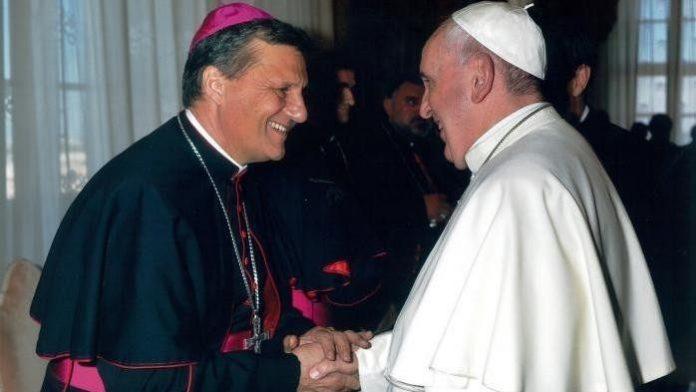 Vyskupų sinodo generalinis sekretorius kardinolas Mario Grechas