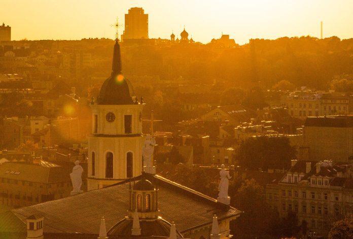 Saulėlydis Vilniuje