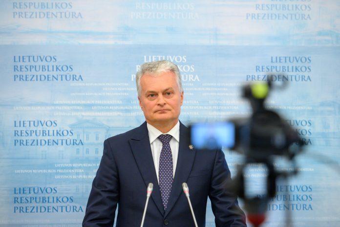 LR Prezidentas Gitanas Nausėda / Lietuvos Respublikos Prezidento kanceliarijos / Roberto Dačkaus nuotr.