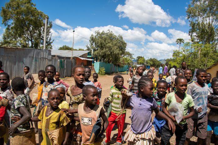 Etiopijos vaikai