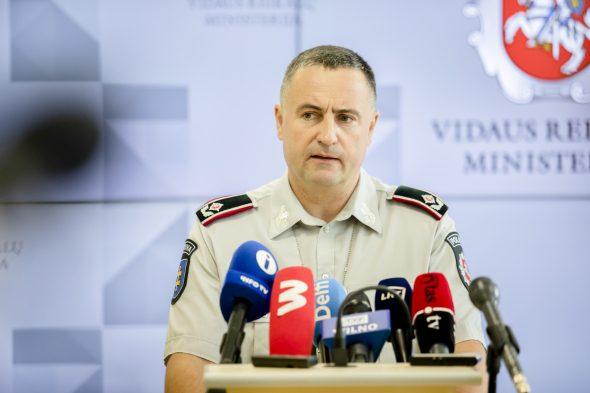 generalinis komisaras Renatas Požėla
