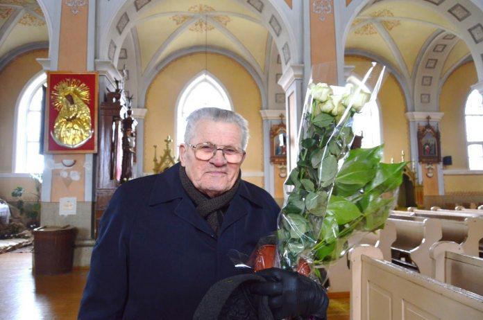 Šiaulių vyskupijos kunigas jubiliatas Julijonas Miškinis