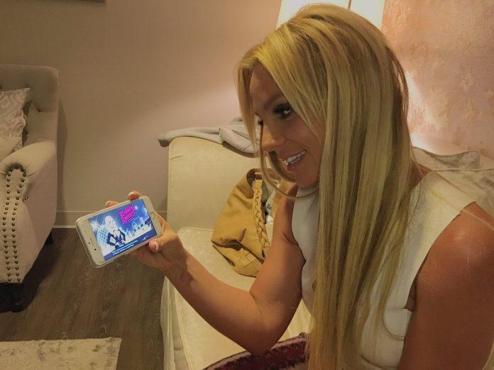 Amerikiečių popmuzikos žvaigždė Britney Spears