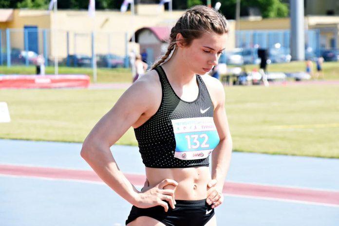 sprinterė Kryscina Cimanouskaja