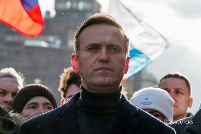 Kalinamas Kremliaus kritikas Aleksejus Navalnas