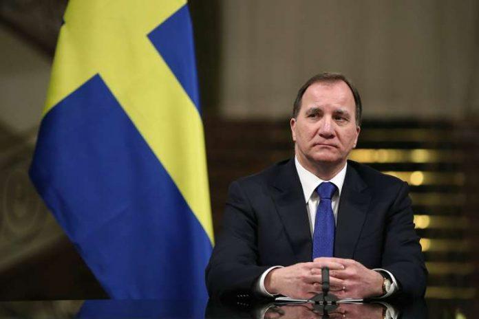 Švedijos ministras pirmininkas socialdemokratas Stefanas Lofvenas