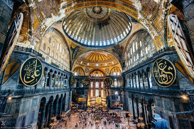 Stambulo Hagia Sophia bazilika