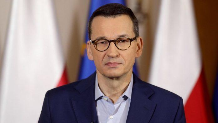 Lenkijos Respublikos Ministras Pirmininkas Mateuszas Morawieckis