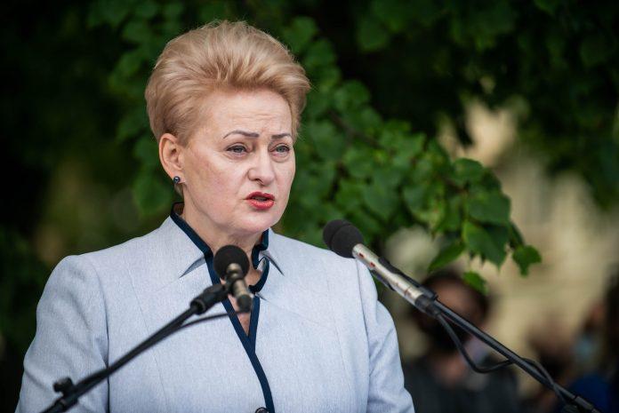 Buvusi Prezidentė Dalia Grybauskaitė