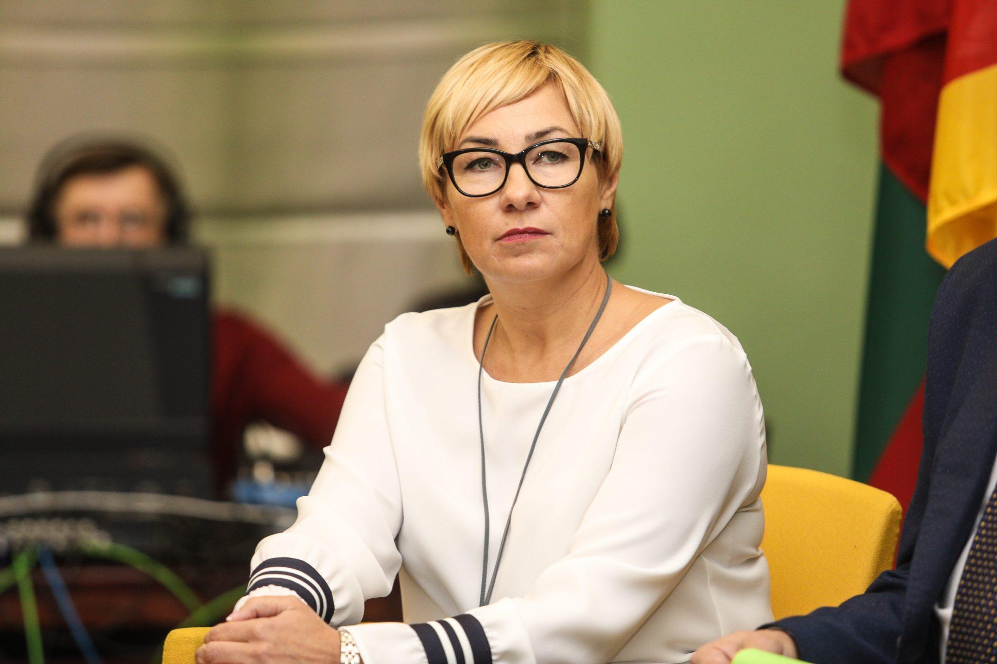 Švietimo, mokslo ir sporto ministrė Jurgita Šiugždinienė