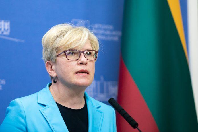 Lietuvos Respublikos Ministrė Pirmininkė Ingrida Šimonytė