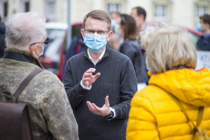 Sveikatos apsaugos ministras Arūnas Dulkys