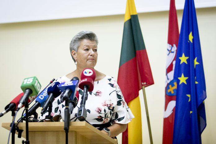 Eurokomisarė Ylva Johansson
