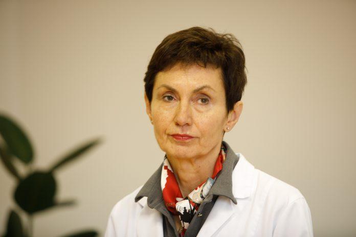 Akušerijos ir ginekologijos klinikos vadovė profesorė Rūta Jolanta Nadišauskienė