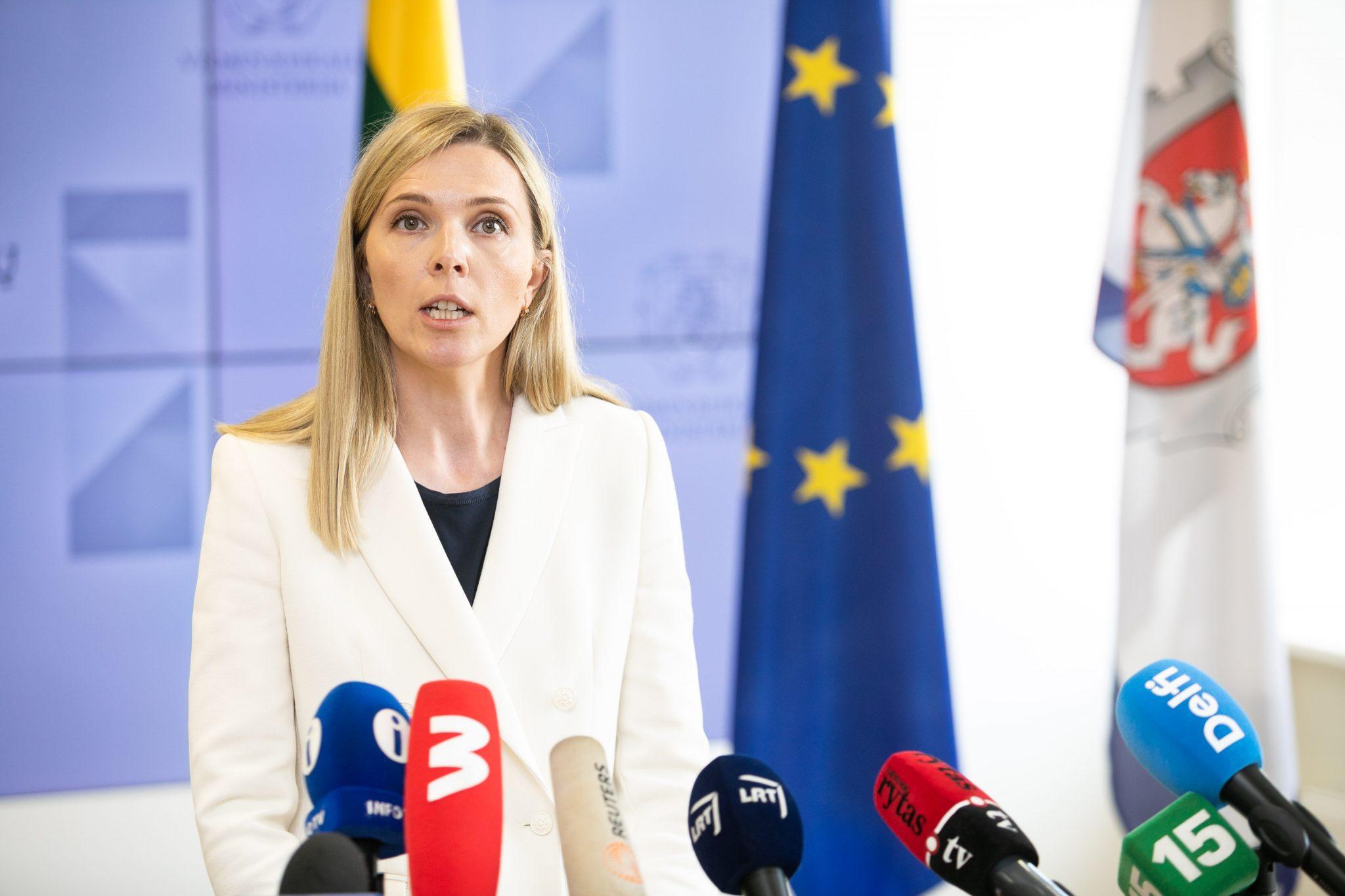 Vidaus reikalų ministrė Agnė Bilotaitė