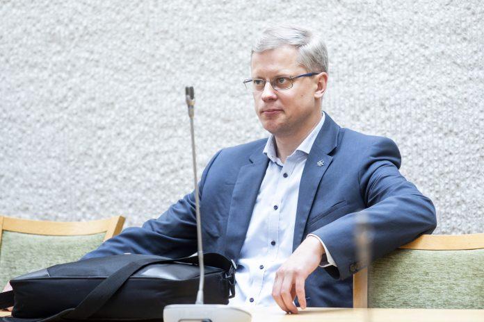 Seimo narys konservatorius Andrius Kupčinskas