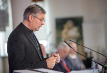 Kauno arkivyskupas metropolitas Kęstutis Kėvalas / Erlendo Bartulio nuotr.
