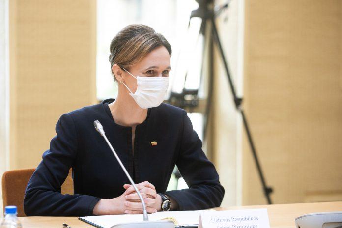 Seimo Pirmininkė Viktorija Čmilytė-Nielsen / BNS nuotr.